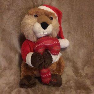 Avon Zack The Holiday Singing Beaver